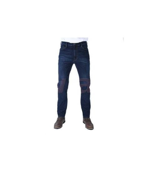 Oxford ZKRÁCENÉ kalhoty Original Approved Jeans volný střih, OXFORD, pánské (sepraná modrá) 30/30