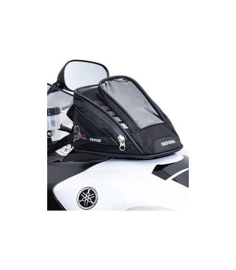 Oxford Tankbag na motocykl M1R Micro, OXFORD (černý, objem 1 l)