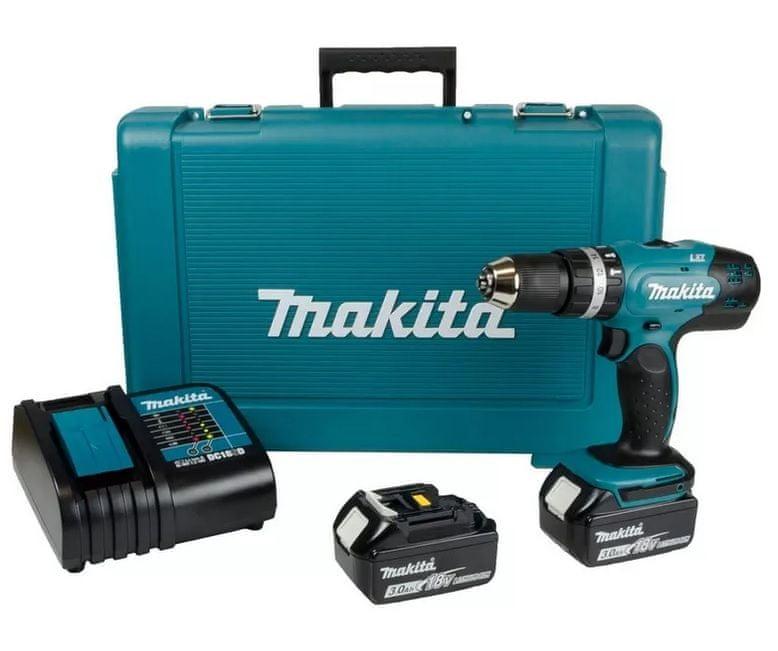 Makita DHP453SFE Příklepový aku šroubovák 18 V