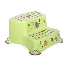 Lorelli Krok stolička DOUBLE HIPPO GREEN