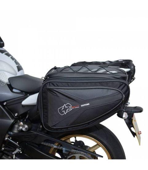 Oxford Boční brašny na motocykl P60R, OXFORD (černé, objem 60 l, pár)