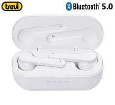 Trevi HMP 12E07 AIR mini Bluetooth 5.0 slušalke z mikrofonom, bele