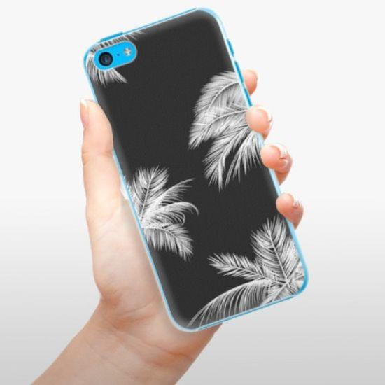 iSaprio Plastikowa obudowa - White Palm na Apple iPhone 5C