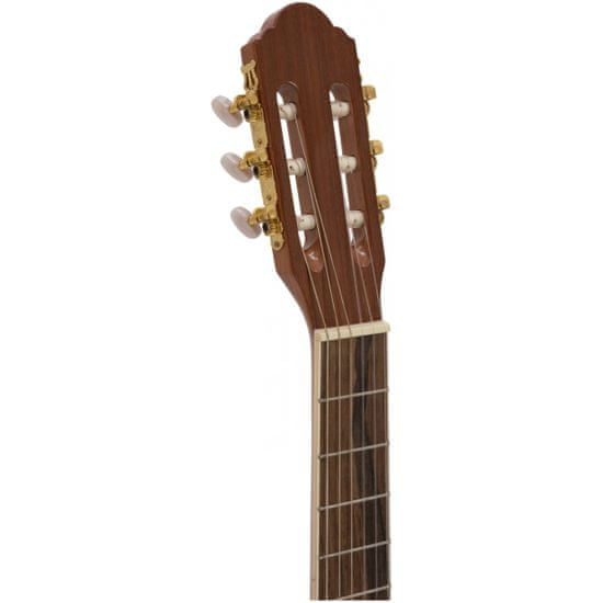 Dimavery CN-600, elektroakustická klasická kytara 4/4, přírodní