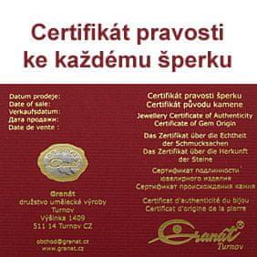 Granát, Turnov - stříbrný přívěsek 6481400