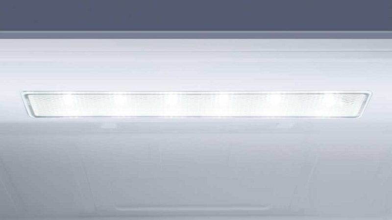 Lednice Haier C3FE837CGJ osvětlení LED
