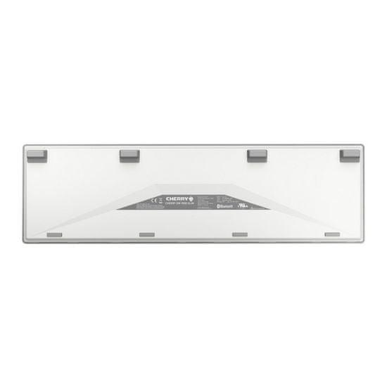 Cherry tipkovnica in miška Cherry DW 9000 Slim, Bluetooth, USB, bela, UK SLO gravura