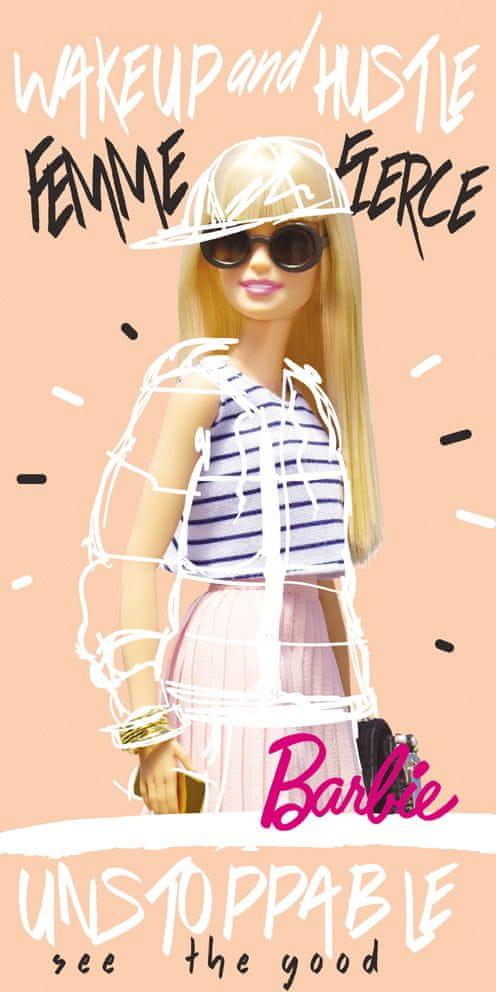 Carbotex Detská osuška Barbie Módna ikona