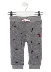 Losan chlapecké žakárové kalhoty 74 šedá