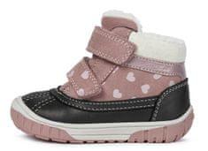 Geox dívčí kotníčková obuv Omar B042LA 02285 C8025 22 růžová
