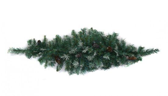 DUE ESSE smrekova veja s storži, božična dekoracija, 120 cm