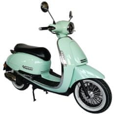 CLS MOTORCYCLE CLS VIENNA 125i 6,5 kW zelená full LED