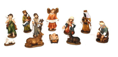 DUE ESSE komplet 12 figur za jaslice, 7 cm