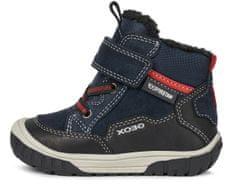 Geox chlapecká kotníčková obuv Omar B042DA 02285 C0045 22 tmavě modrá