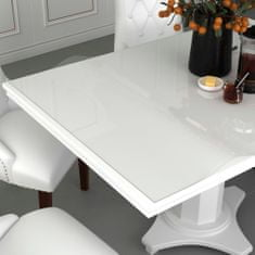 Ochranná fólie na stůl průhledná 160 x 90 cm 2 mm PVC
