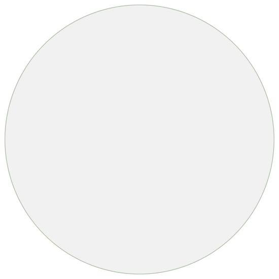 shumee Ochranná fólie na stůl průhledná Ø 90 cm 2 mm PVC