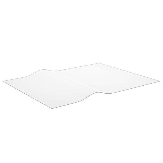 shumee átlátszó PVC védőabrosz 120 x 90 cm 2 mm