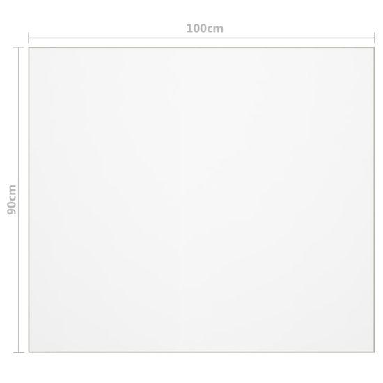 shumee átlátszó PVC védőabrosz 100 x 90 cm 2 mm