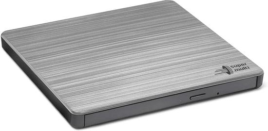 Hitachi GP60NS60 externí, M-Disc, USB, strieborná