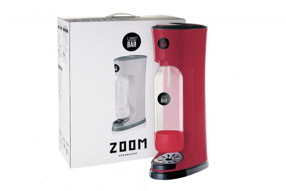 LIMO BAR výrobník sody Zoom - Red