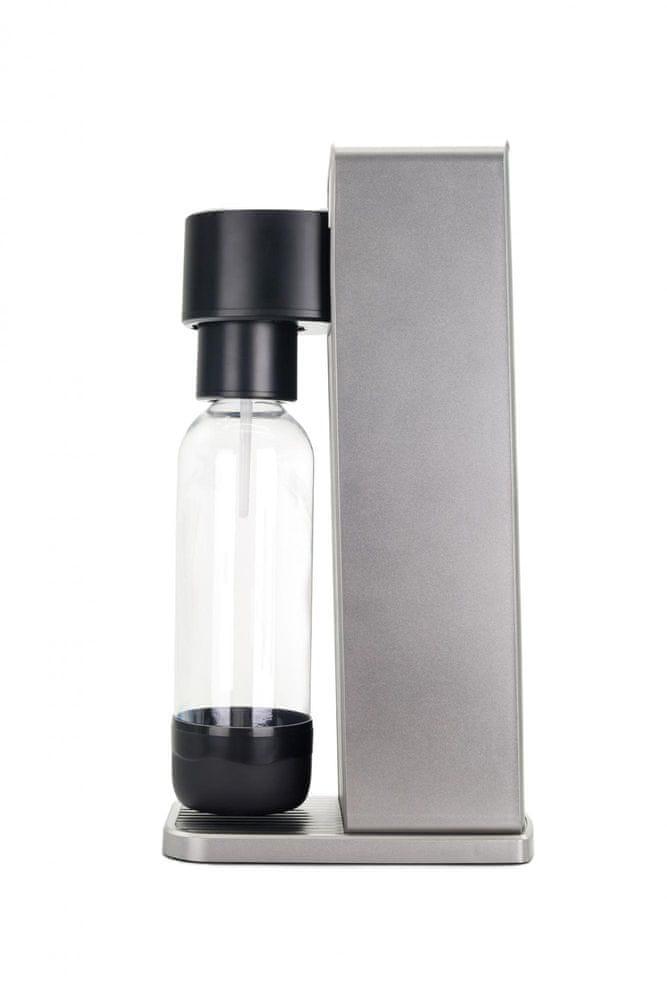 LIMO BAR výrobník sody Twin - Silver/Black