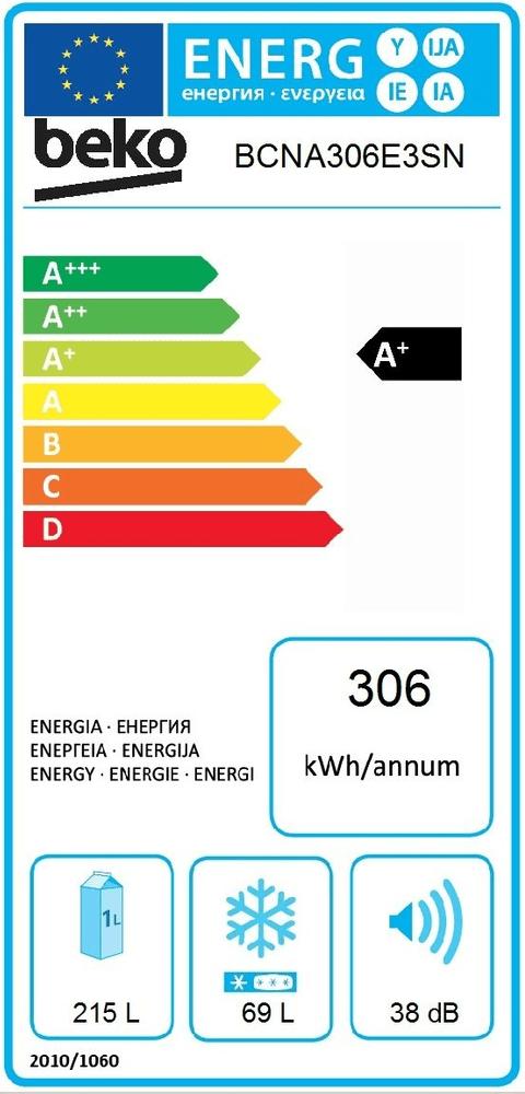 Beko BCNA306E3SN - použité