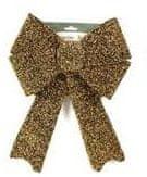 DUE ESSE božična pentlja, zlata, 35 cm