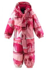 Reima Puhuri dekliški zimski kombinezon, 86, roza