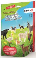 Schleich Sáček s překvapením - farmářská zvířátka L, série 4
