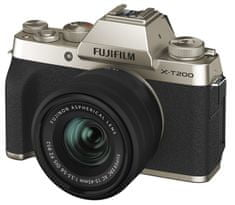 FujiFilm X-T200 + XC 15-45 Gold