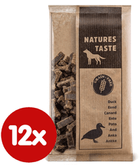Tommi Karma dla psa Natures Taste GF 12x100 g, kaczka