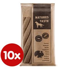Tommi dopolnilna hrana za psa Natures Taste GF puranje spirale 10x180 g