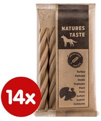 Tommi dodatna krma za pse Natures Taste GF, 14x100 g