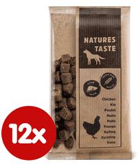 Tommi przekąska dla psa Natures Taste GF Snack wątroba 12x100 g