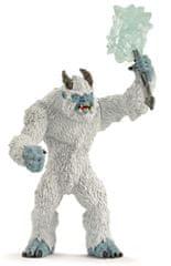 Schleich Ledové monstrum se zbraní 42448