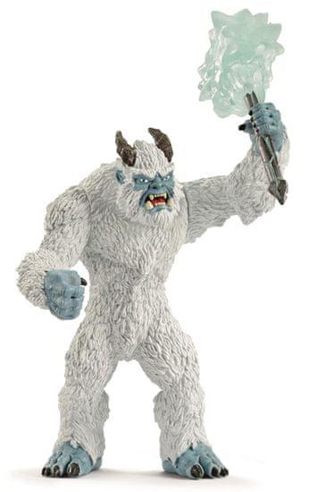 Schleich lodowy potwór z bronią 42448