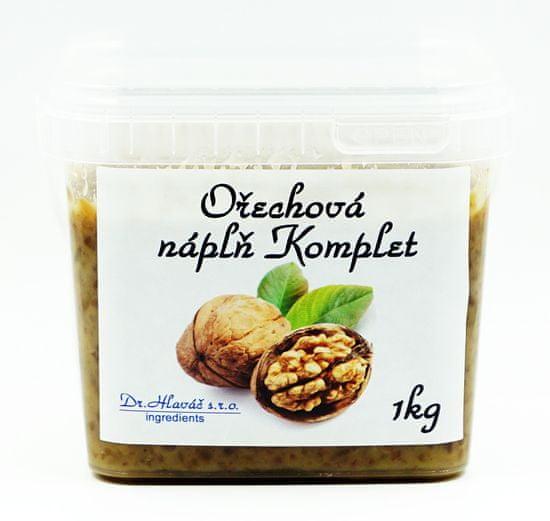 Dr. Hlaváč Ořechová náplň Komplet 1 kg
