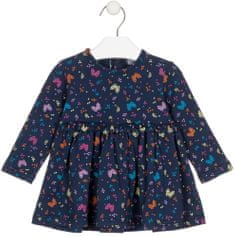 Losan dívčí šaty 68 modrá