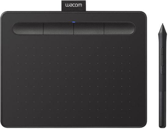 Wacom Intuos S grafična tablica, črna + brezplačna licenca