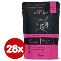 Fitmin Cat pouch kitten chicken 28x85 g