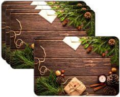RoomDecor.eu Vánoční prostírání-031, 4 Ks