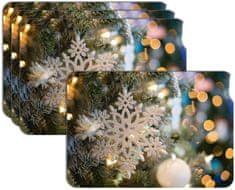 RoomDecor.eu Vánoční prostírání-033, 4 Ks