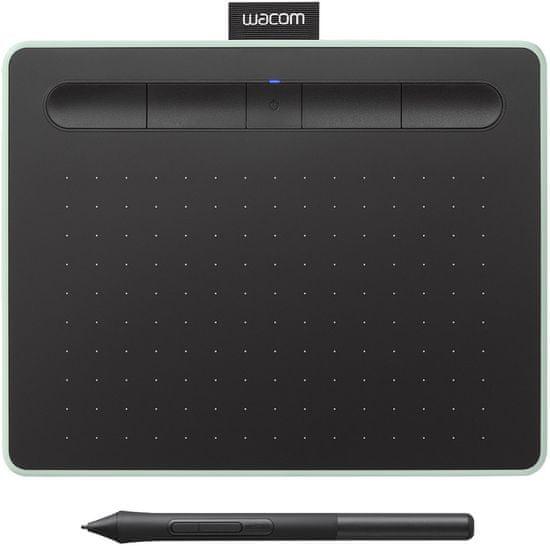 Wacom Intuos S Bluetooth grafična tablica , pistacija + brezplačni licenci