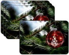 RoomDecor.eu Vánoční prostírání-037, 4 Ks