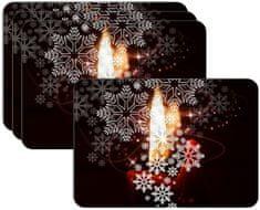 RoomDecor.eu Vánoční prostírání-040, 4 Ks