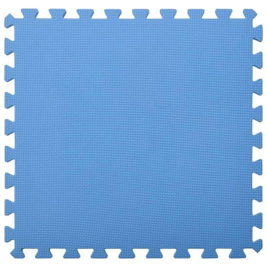shumee Podložky na cvičení 6 ks 2,16 ㎡ EVA pěna modrá