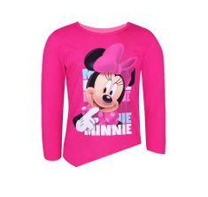 """SETINO Dekliška majica z dolgimi rokavi """"Minnie Mouse"""" - roza - 134–140 / 9–10 let"""