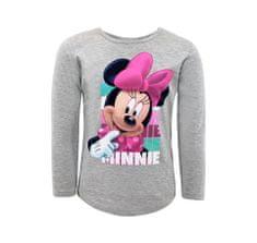 """SETINO Dekliška majica z dolgimi rokavi """"Minnie Mouse"""" - črna - 134–140 / 9–10 let"""