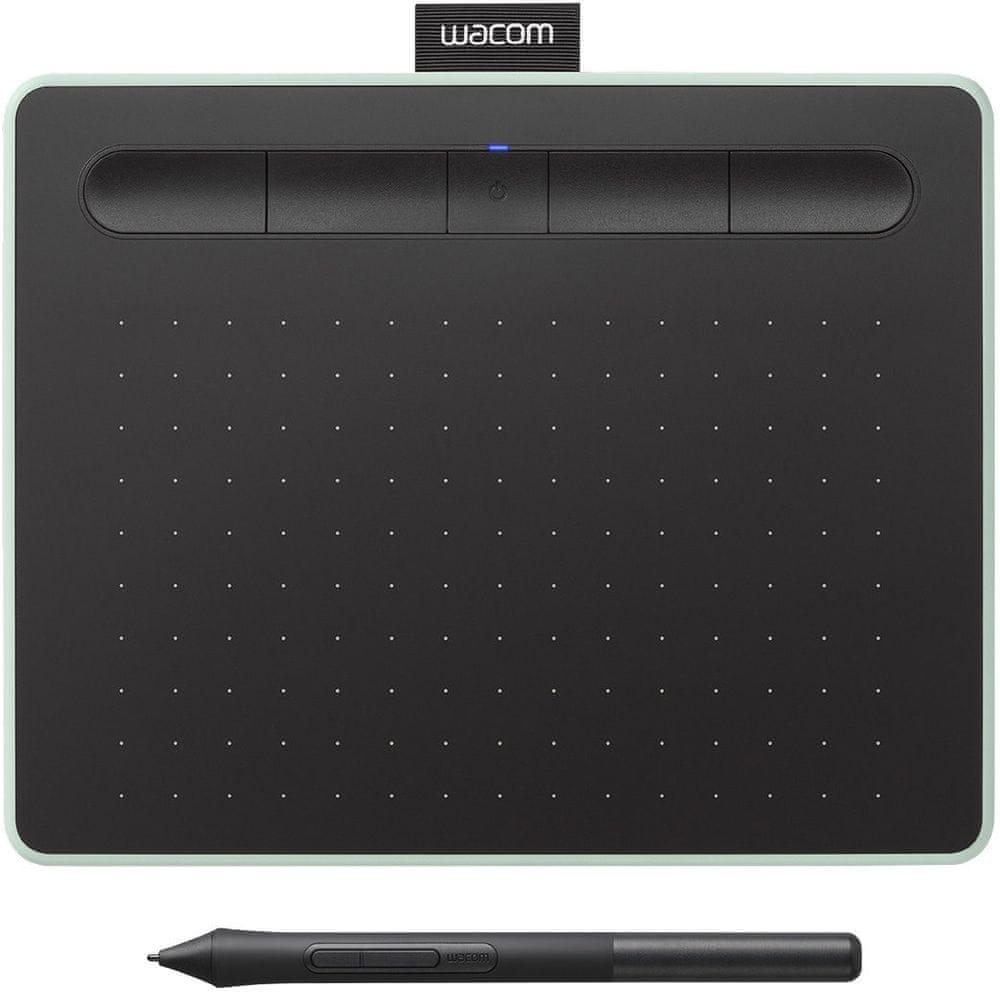 Wacom Intuos M Bluetooth, pistáciová (CTL-6100WLE) - rozbaleno