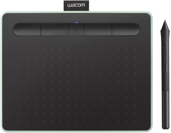 Wacom Intuos M Bluetooth grafična tablica, pistacija + brezplačne licence